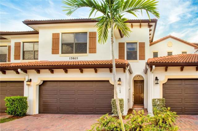 15821 Portofino Springs Blvd #108, Fort Myers, FL 33908 (MLS #220007154) :: RE/MAX Realty Team