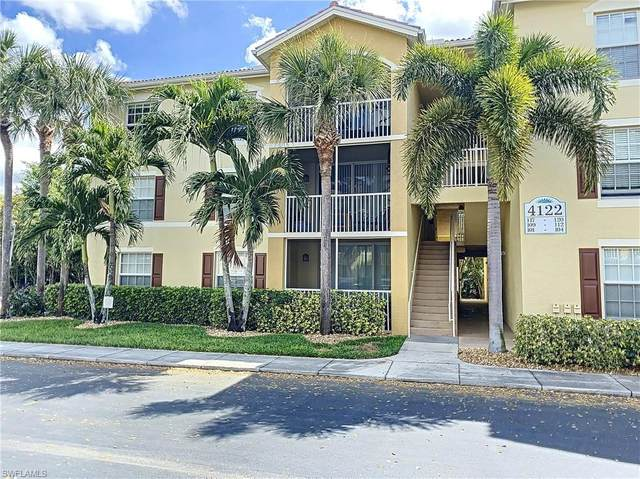 4122 Residence Drive #117, Fort Myers, FL 33901 (MLS #220011860) :: Realty World J. Pavich Real Estate