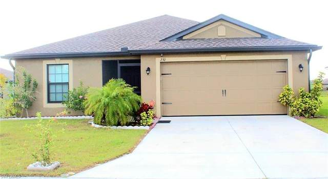 230 Shadow Lakes Dr, Lehigh Acres, FL 33974 (MLS #220015078) :: RE/MAX Realty Team