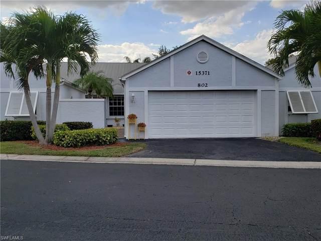 15371 River Vista Dr #802, North Fort Myers, FL 33917 (#220021107) :: Southwest Florida R.E. Group Inc
