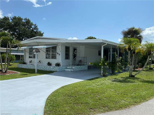 815 Holly Berry Court, North Fort Myers, FL 33917 (MLS #220029110) :: Clausen Properties, Inc.
