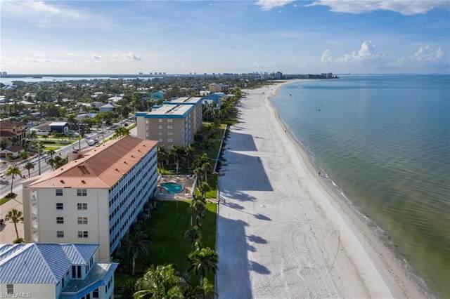 5000 Estero Boulevard #106, Fort Myers Beach, FL 33931 (#220048557) :: The Dellatorè Real Estate Group