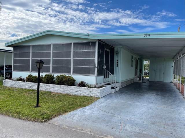 5523 Colonial Road #239, North Fort Myers, FL 33917 (MLS #221030022) :: Realty World J. Pavich Real Estate