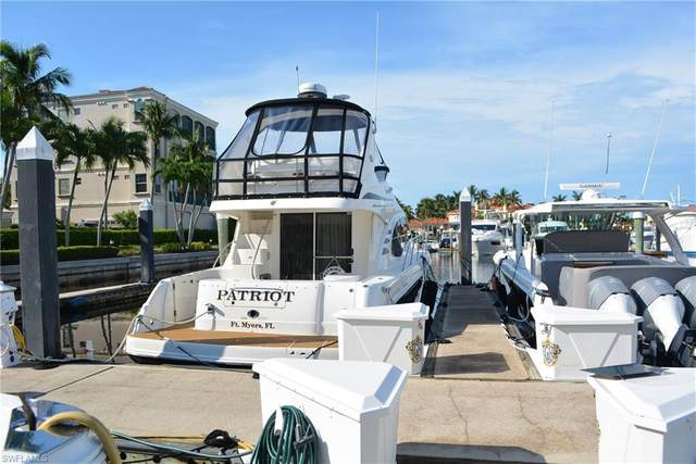 48 Ft. Boat Slip A Gulf Harbour F-25, Fort Myers, FL 33908 (MLS #221053939) :: Clausen Properties, Inc.