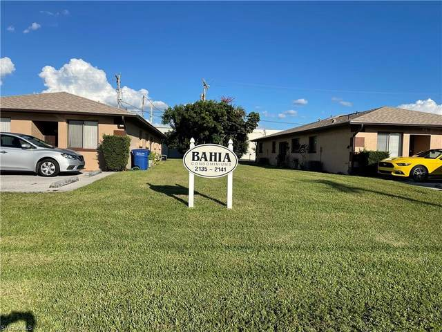 2141 SE 15th Place #108, Cape Coral, FL 33990 (MLS #221072553) :: Domain Realty