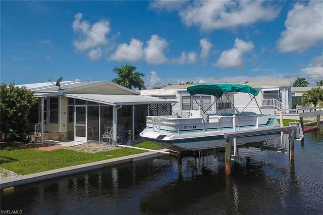 14 Galleon Way, Fort Myers Beach, FL 33931 (#220056107) :: The Dellatorè Real Estate Group