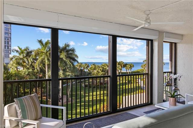 10851 Gulf Shore Drive #201, Naples, FL 34108 (MLS #220039327) :: The Naples Beach And Homes Team/MVP Realty