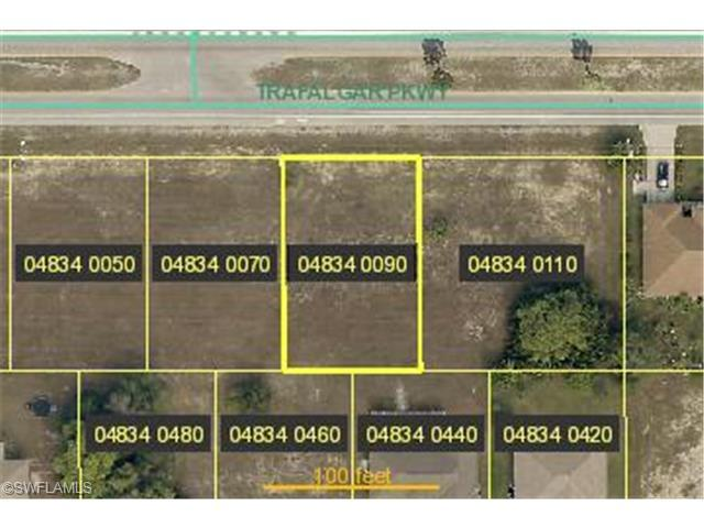 1822 SW Trafalgar Pky, Cape Coral, FL 33991 (#214008849) :: Homes and Land Brokers, Inc