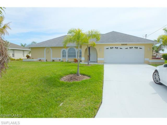 2830 SW 34th Ter, Cape Coral, FL 33914 (#214038216) :: Homes and Land Brokers, Inc
