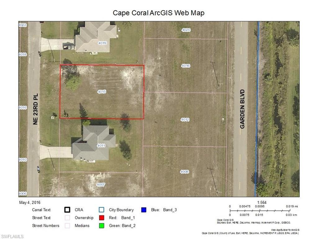 4015 NE 23rd Pl, Cape Coral, FL 33909 (#216031206) :: Homes and Land Brokers, Inc