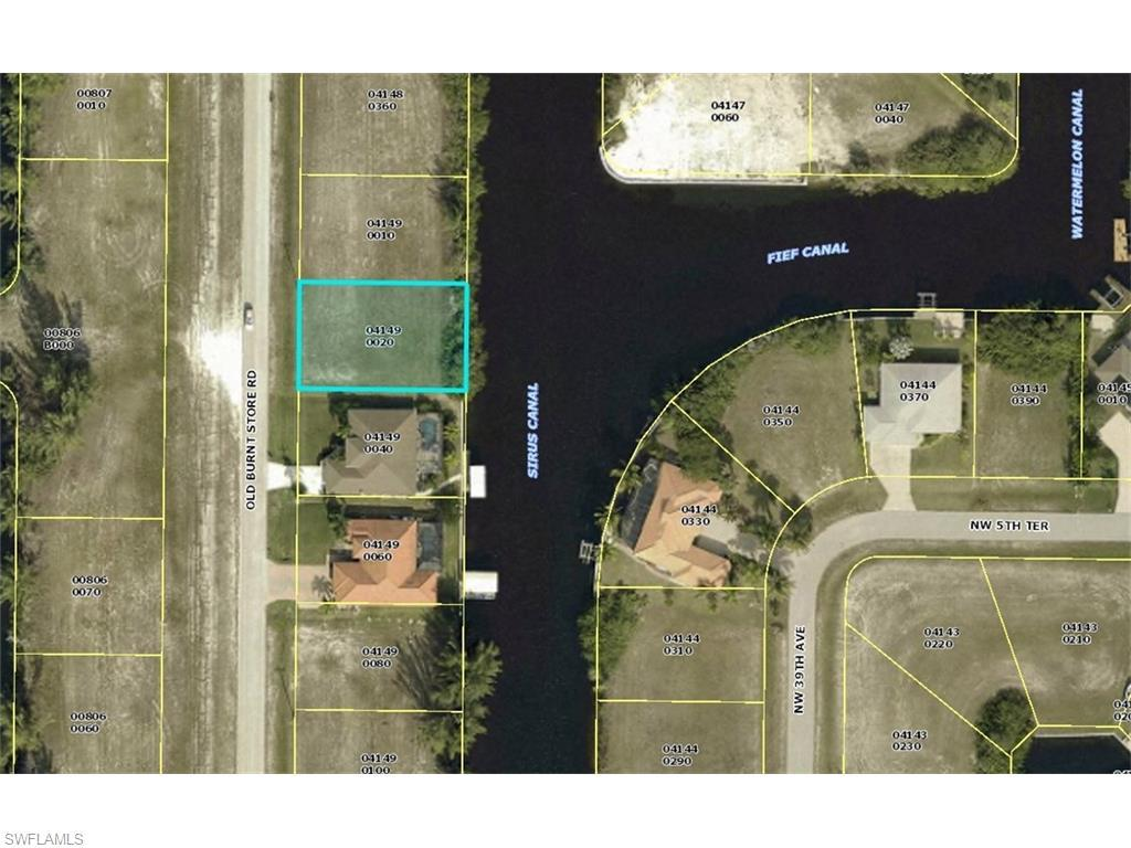 507 Old Burnt Store Rd N, Cape Coral, FL 33993 (MLS #216031230) :: The New Home Spot, Inc.