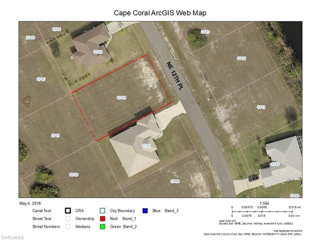 3716 NE 12th Pl, Cape Coral, FL 33909 (#216031290) :: Homes and Land Brokers, Inc