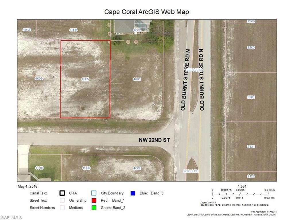 4005 NW 22nd St, Cape Coral, FL 33993 (MLS #216031303) :: The New Home Spot, Inc.
