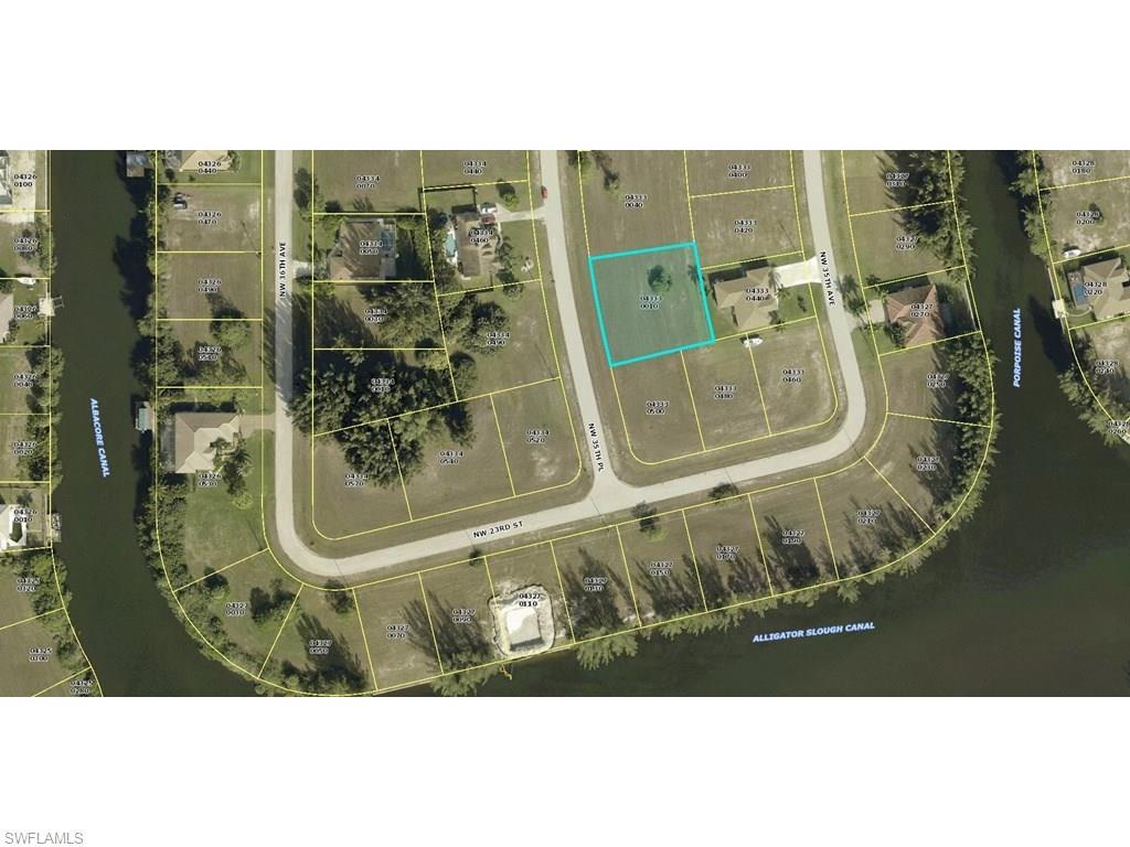 2307 NW 35th Pl, Cape Coral, FL 33993 (MLS #216031309) :: The New Home Spot, Inc.