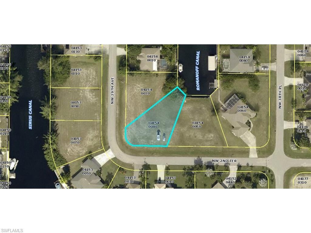 3827 NW 2nd Ter, Cape Coral, FL 33993 (MLS #216031569) :: The New Home Spot, Inc.