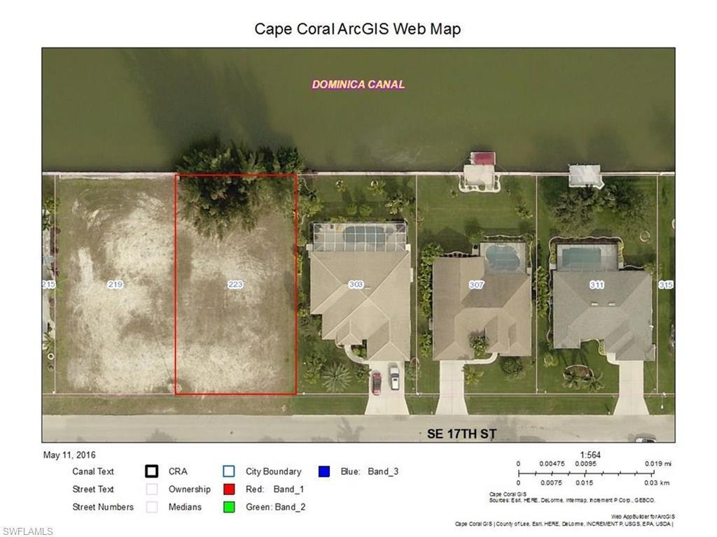223 SE 17th St, Cape Coral, FL 33990 (MLS #216032887) :: The New Home Spot, Inc.