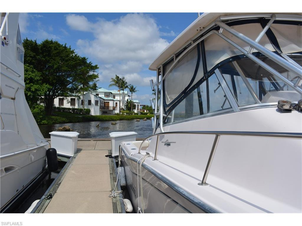 38' Boat Slip At Gulf Harbour A-4, Fort Myers, FL 33908 (MLS #216035386) :: The New Home Spot, Inc.