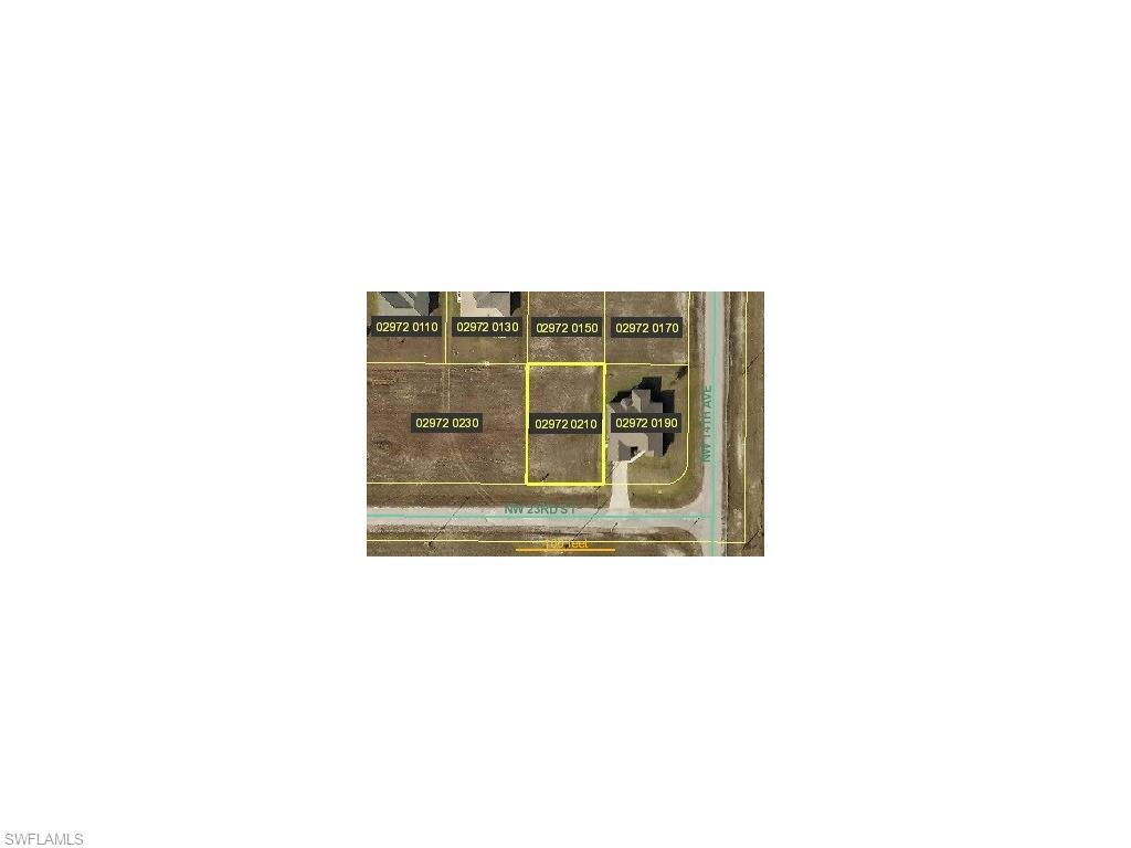 1405 NW 23rd St, Cape Coral, FL 33993 (MLS #216039593) :: The New Home Spot, Inc.