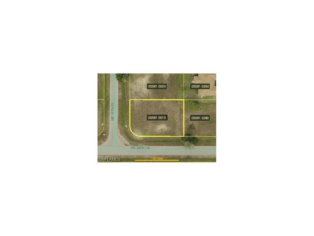 3631 NE 10th Pl, Cape Coral, FL 33909 (MLS #216041645) :: The New Home Spot, Inc.