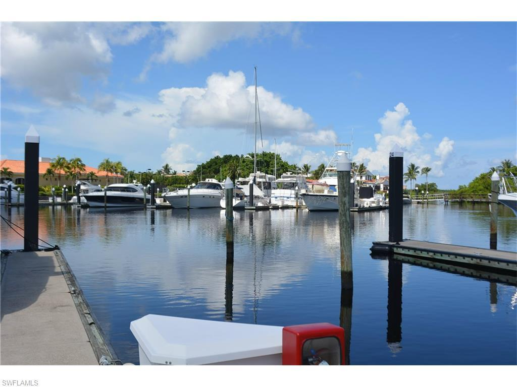 50' Boat Slip At Gulf Harbour D-25, Fort Myers, FL 33908 (MLS #216042064) :: The New Home Spot, Inc.