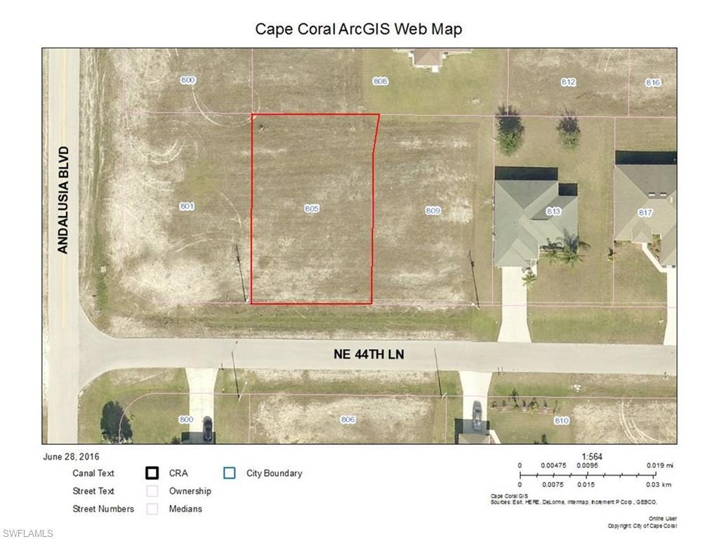 805 NE 44th Ln, Cape Coral, FL 33909 (#216042685) :: Homes and Land Brokers, Inc