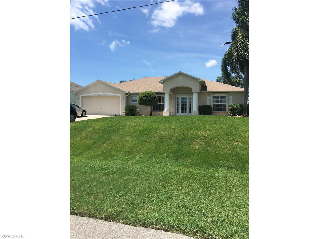 3507 NW 14th St, Cape Coral, FL 33993 (MLS #216042933) :: The New Home Spot, Inc.
