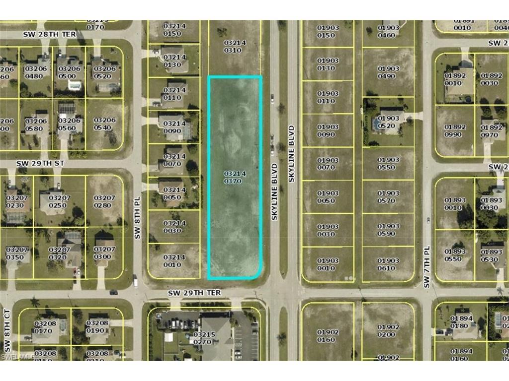 2828 Skyline Blvd, Cape Coral, FL 33914 (MLS #216043461) :: The New Home Spot, Inc.