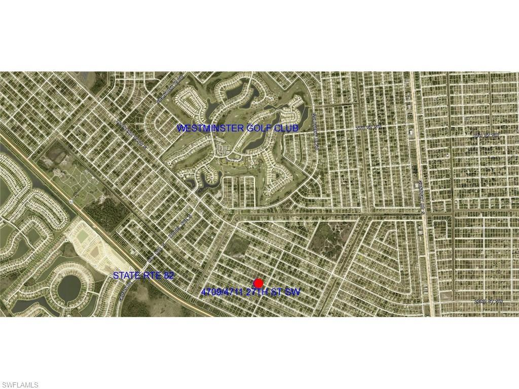 4709/4711 27th St SW, Lehigh Acres, FL 33973 (#216043712) :: Homes and Land Brokers, Inc