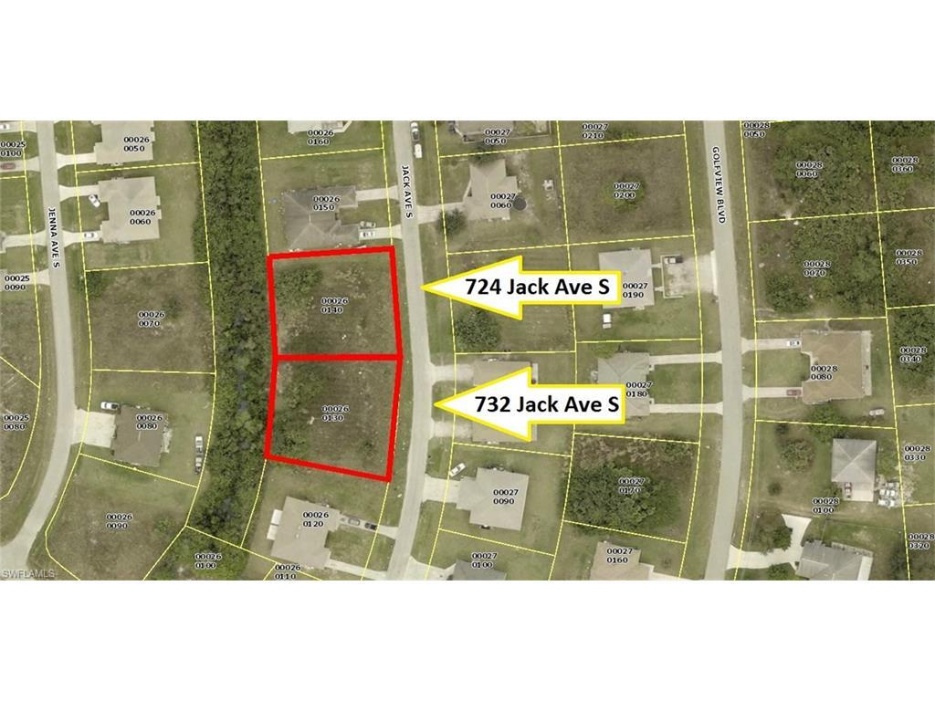 732 Jack Ave S, Lehigh Acres, FL 33973 (#216046898) :: Homes and Land Brokers, Inc