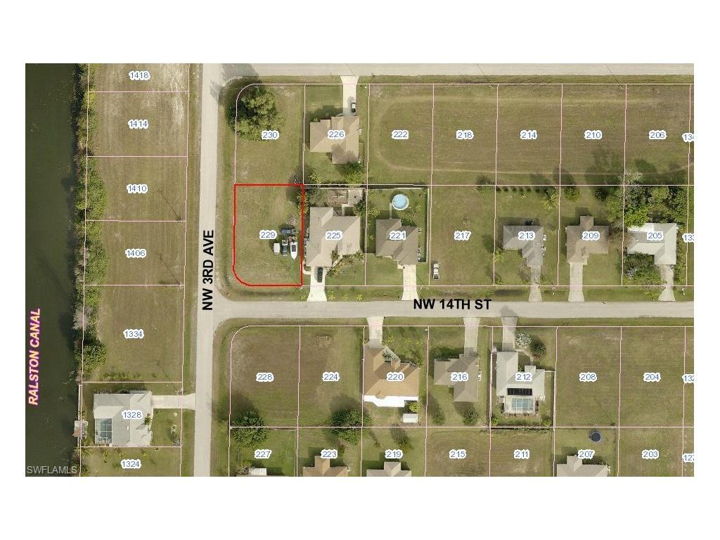 229 NW 14th St, Cape Coral, FL 33993 (MLS #216047879) :: The New Home Spot, Inc.