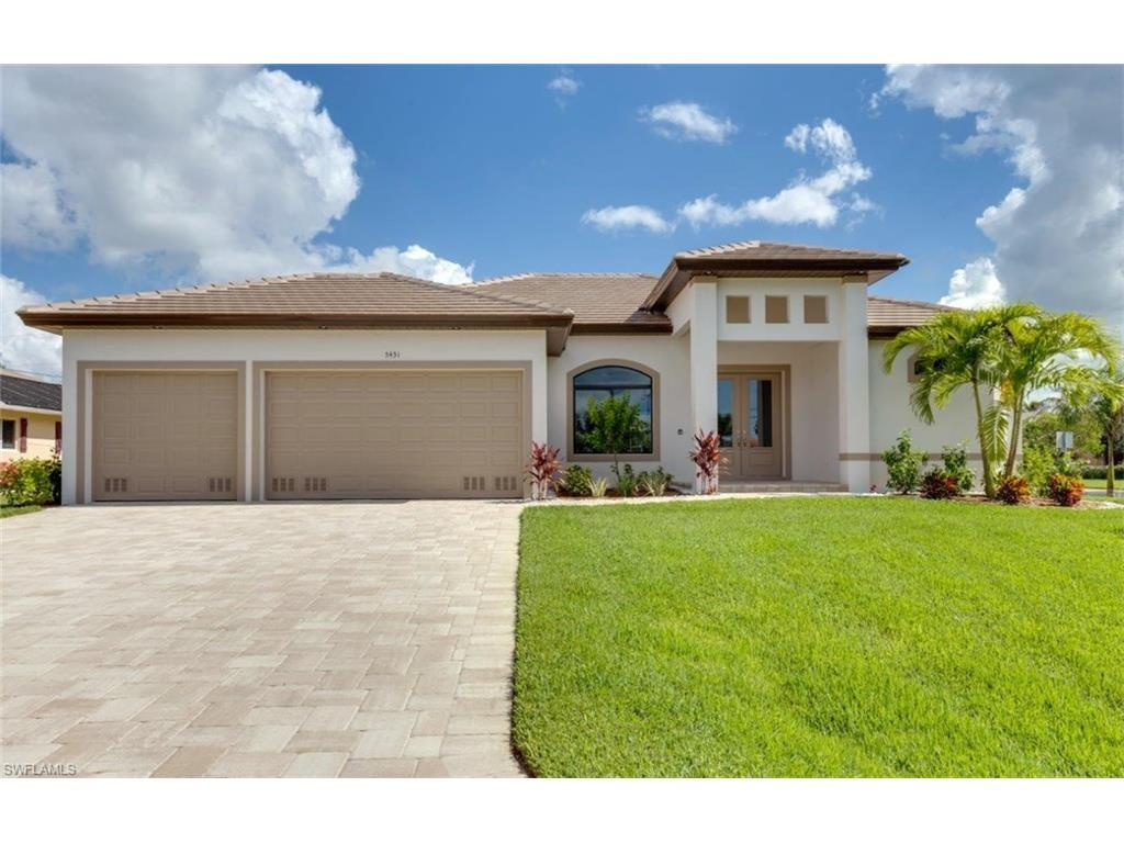 5431 SW 22nd Pl, Cape Coral, FL 33914 (MLS #216048604) :: The New Home Spot, Inc.
