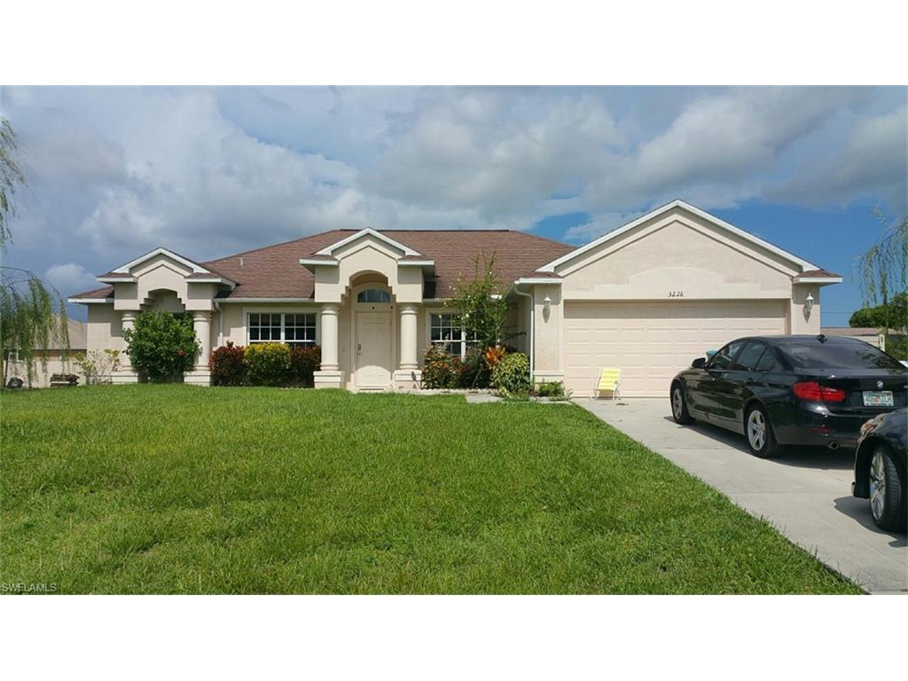 3226 SW 8th Ct, Cape Coral, FL 33914 (MLS #216048711) :: The New Home Spot, Inc.