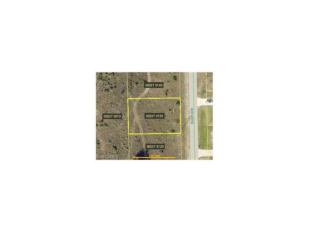 1817 Rush Ave, Lehigh Acres, FL 33972 (MLS #216048723) :: The New Home Spot, Inc.