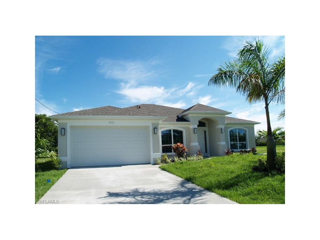 2415 NW 24th Ter, Cape Coral, FL 33993 (#216048818) :: Homes and Land Brokers, Inc
