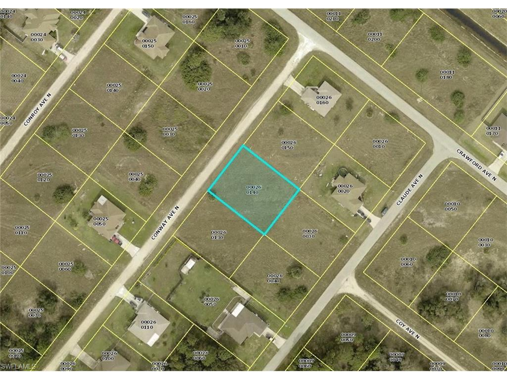 2410 Conway Ave N, Lehigh Acres, FL 33971 (MLS #216051375) :: The New Home Spot, Inc.