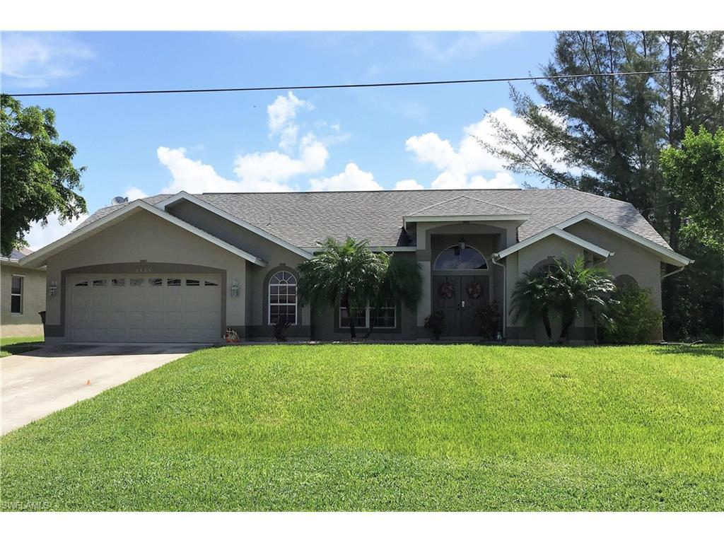 3825 SW 20th Ave, Cape Coral, FL 33914 (MLS #216054822) :: The New Home Spot, Inc.