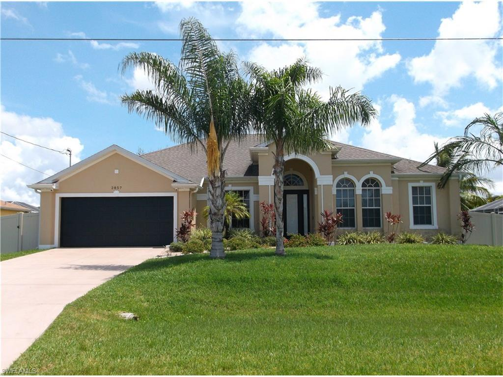 2857 SW 25th Pl, Cape Coral, FL 33914 (MLS #216055101) :: The New Home Spot, Inc.