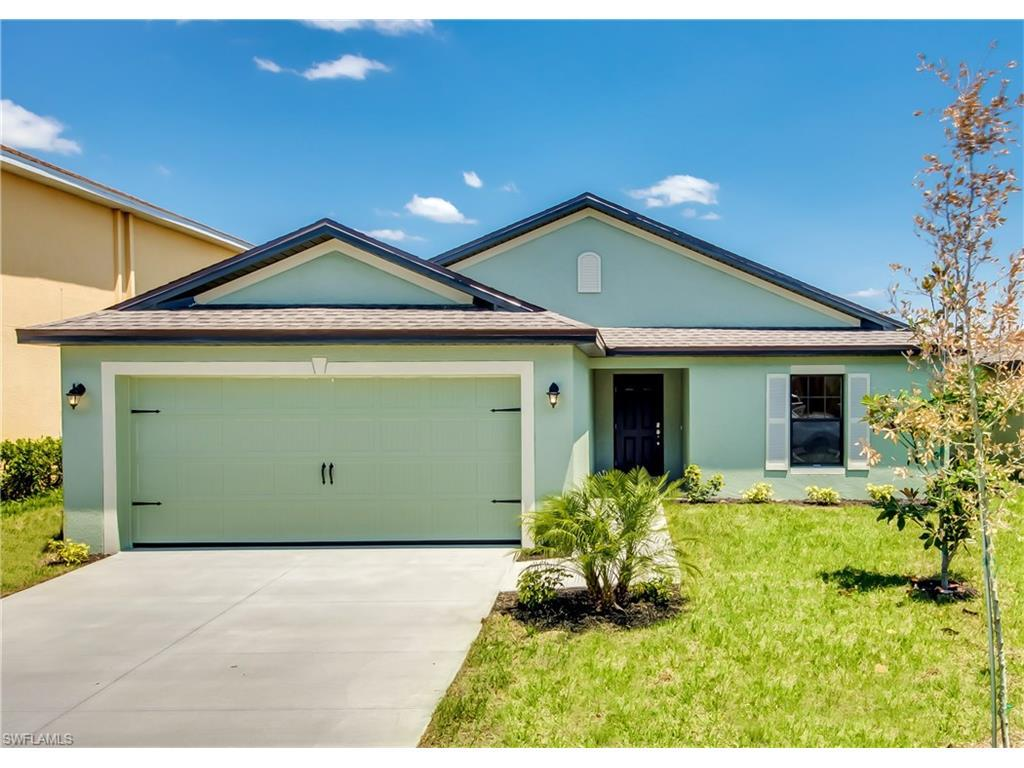 261 Shadow Lakes Dr, Lehigh Acres, FL 33974 (MLS #216055635) :: The New Home Spot, Inc.