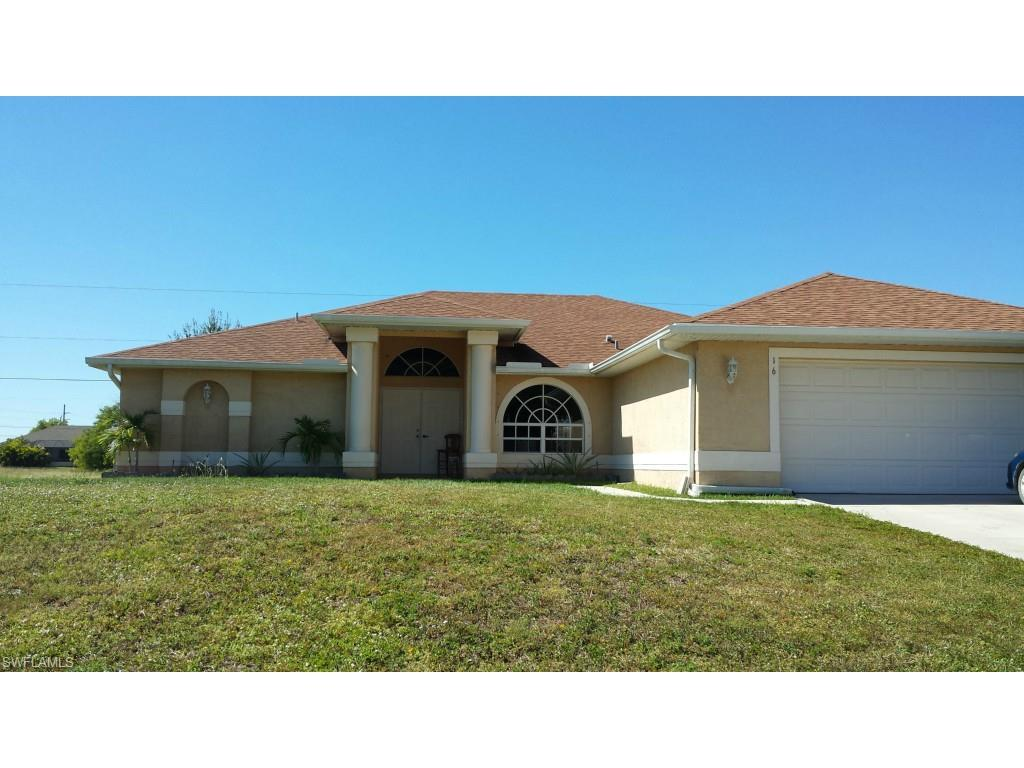 16 NW 12th Pl, Cape Coral, FL 33993 (MLS #216056336) :: The New Home Spot, Inc.