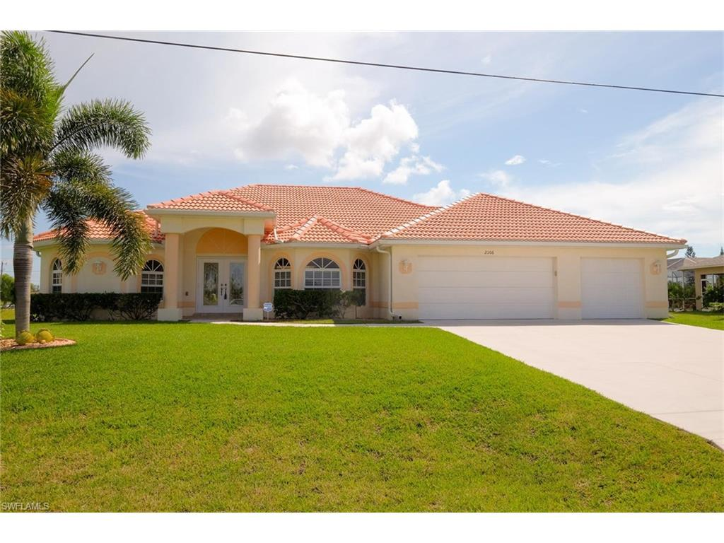 2106 SW 26th St, Cape Coral, FL 33914 (MLS #216059140) :: The New Home Spot, Inc.