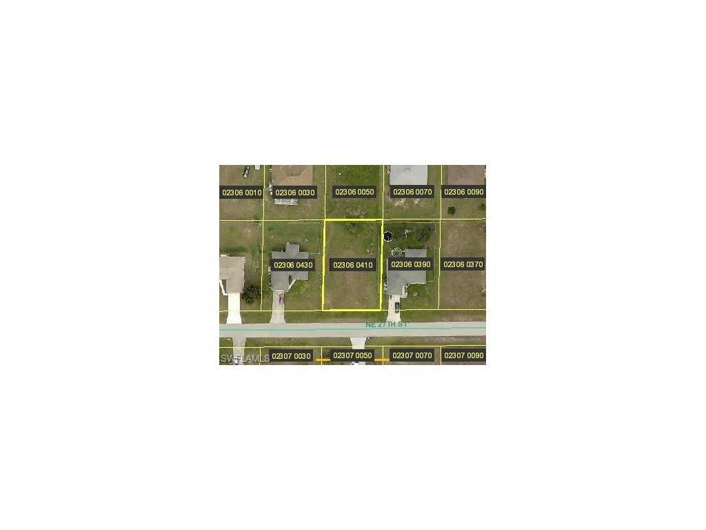 313 NE 27th St, Cape Coral, FL 33909 (MLS #216059362) :: The New Home Spot, Inc.