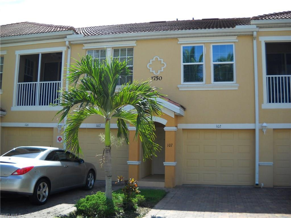 1750 Concordia Lake Cir #107, Cape Coral, FL 33909 (MLS #216059468) :: The New Home Spot, Inc.