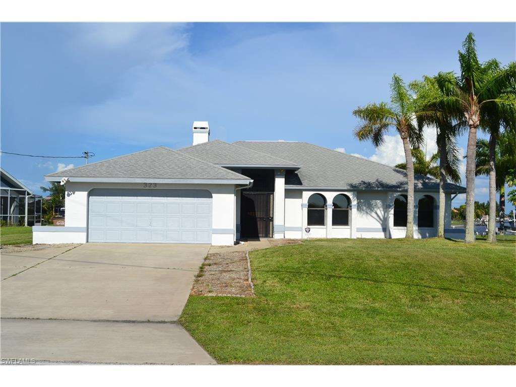 323 Old Burnt Store Rd S, Cape Coral, FL 33991 (MLS #216060394) :: The New Home Spot, Inc.