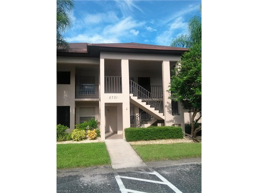 5731 Foxlake Dr #6, North Fort Myers, FL 33917 (#216061219) :: Homes and Land Brokers, Inc