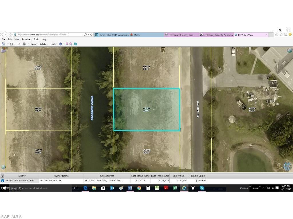 2110 SW 17th Ave, Cape Coral, FL 33991 (MLS #216061629) :: The New Home Spot, Inc.