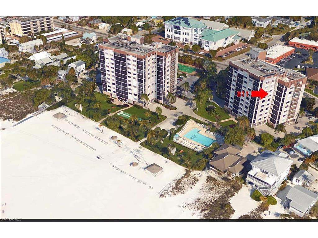 2810 Estero Blvd #811, Fort Myers Beach, FL 33931 (MLS #216061795) :: The New Home Spot, Inc.