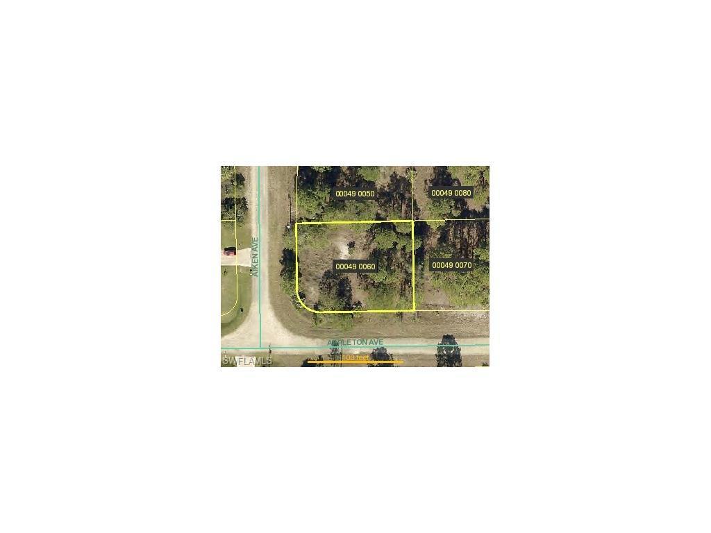 823 Aiken Ave, Lehigh Acres, FL 33974 (MLS #216062925) :: The New Home Spot, Inc.