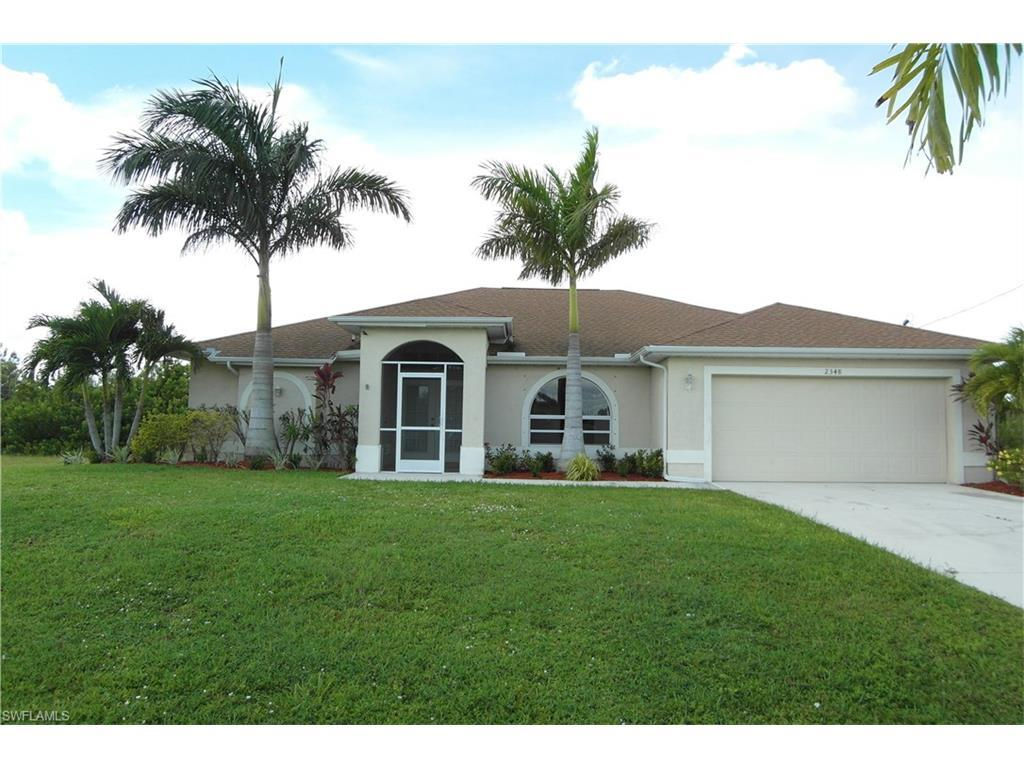 2348 NW 38th Pl, Cape Coral, FL 33993 (#216063149) :: Homes and Land Brokers, Inc