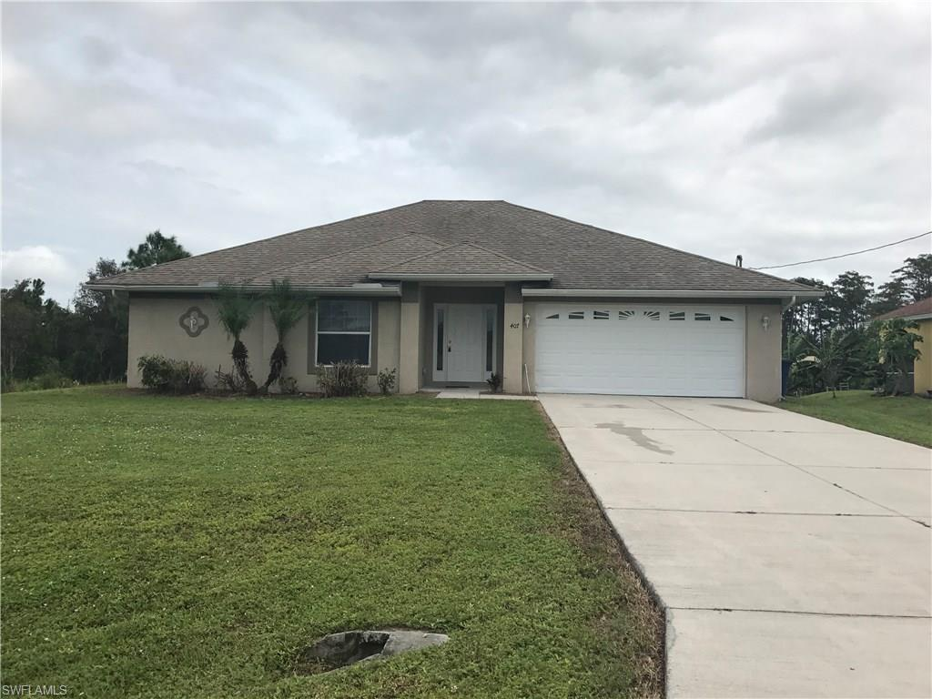 407 Conlee St, Lehigh Acres, FL 33974 (MLS #216063658) :: The New Home Spot, Inc.