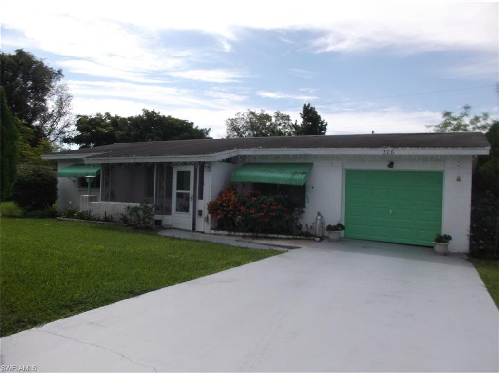 206 E Bougainvillea Rd, Lehigh Acres, FL 33936 (MLS #216064454) :: The New Home Spot, Inc.